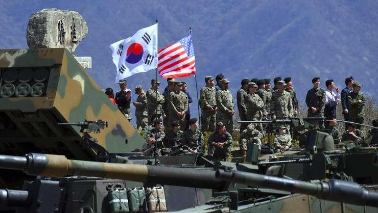 Coreea de Sud si Statele Unite efectueaza anual exercitii militare comune