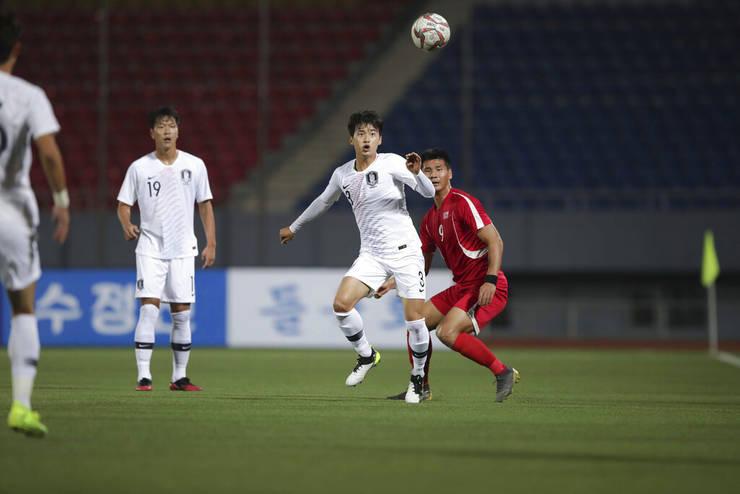 Meci între Coreea de Nord și Coreea de Sud