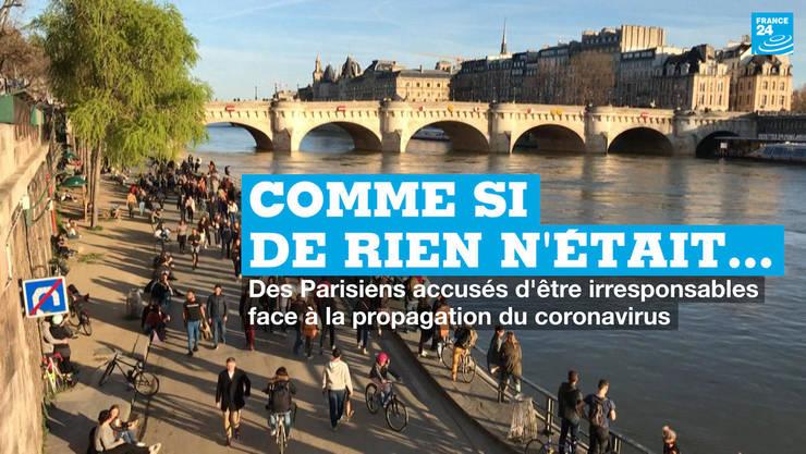 Duminică 15 martie mii de parizieni s-au plimbat pe cheiurile Senei ca şi cum epidemia de coronavirus nu ar exista