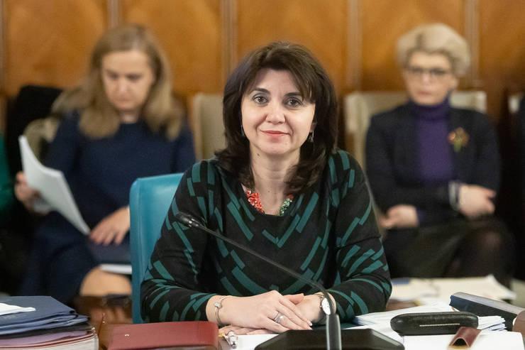 Monica Anisie spune că anul școlar nu va fi înghețat (Sursa foto: gov.ro)