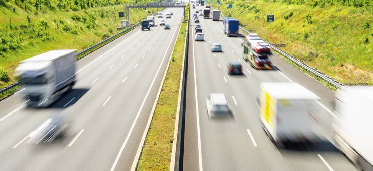 Transporturile de mărfuri au de suferit din cauza coronavirusului (Sursa foto: Facebook/UNTRR)