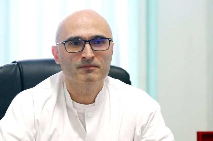 """Medicul Cristian Oancea, directorul Spitalului """"Victor Babeș"""" din Timișoara."""
