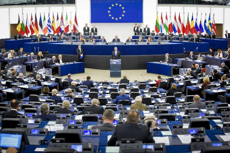 Rezoluţia din PE privind statul de drept din România, votată marţi, 13 noiembrie (Sursa foto: site PE)