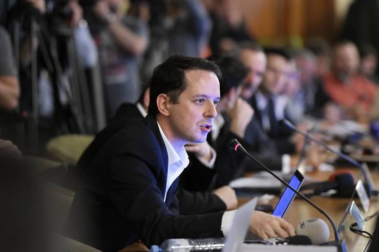 Cristian Seidler apără PNRR în fața criticilor PSD (Sursa: MEDIAFAX FOTO/Andreea Alexandru)