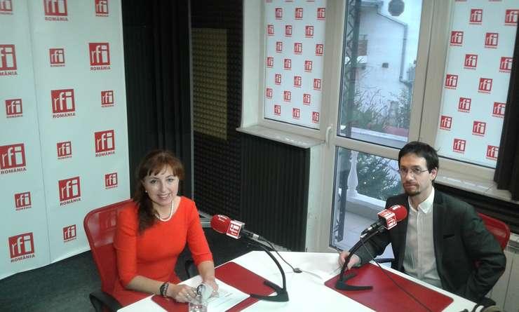 Cristiana Paşca-Palmer, în studioul RFI
