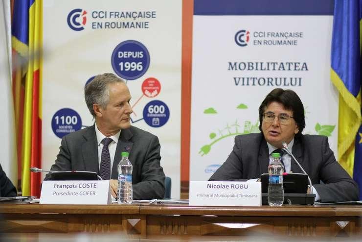 François Coste CCIFER şi Nicolae Robu