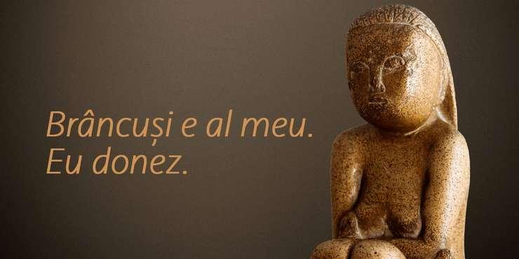 Proprietarii sculpturii cer 11 milioane de euro