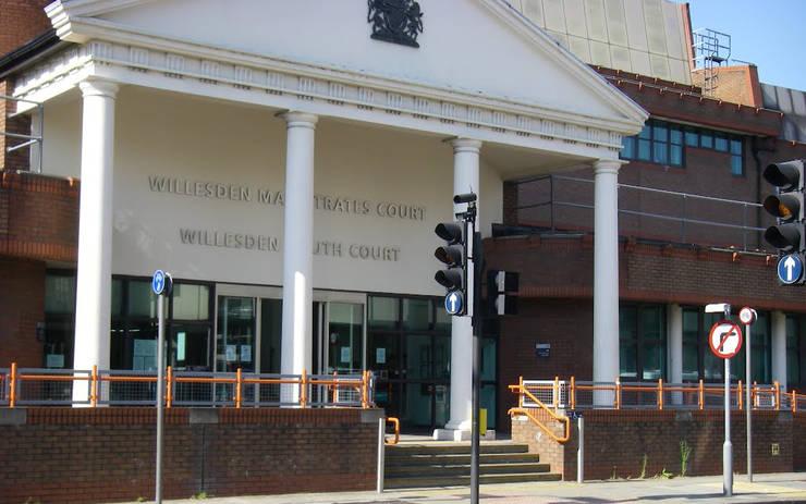 Curtea de Magistrați de la Willesden, în nord-vestul Londrei