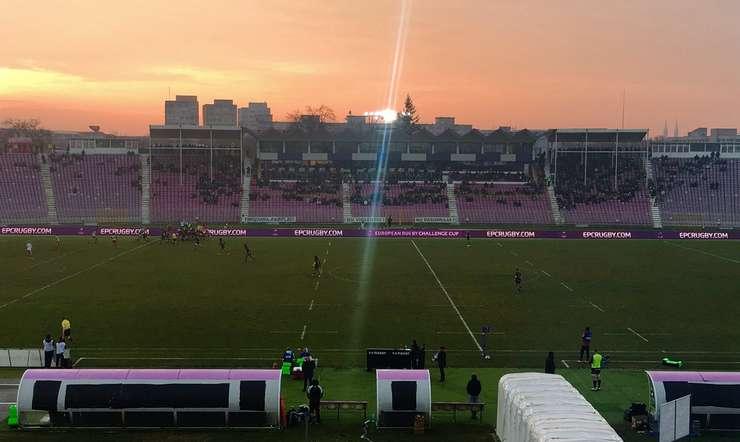 Stadionul Dan Păltinișanu din Timișoara