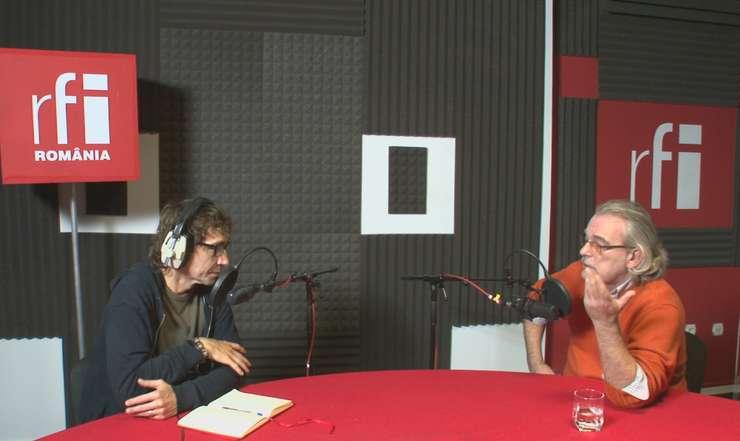 Dan Pârvu și Tudor Potra la RFI Romania
