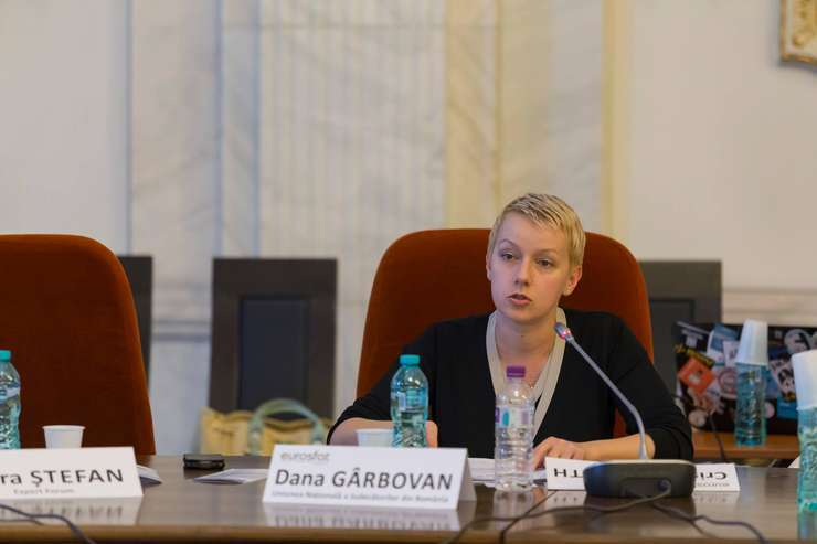 Dana Gîrbovan speră că Parlamentul va corecta legile justiţiei (Sursa foto: Facebook/Dana Gîrbovan)