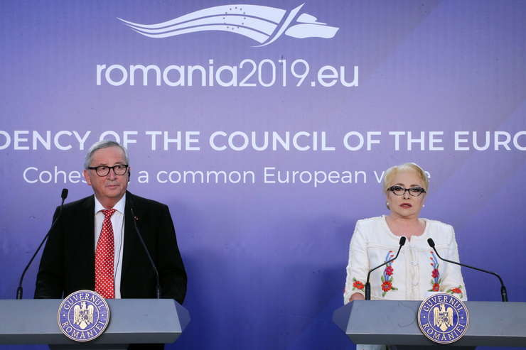 Vom continua să lucrăm în mod consecvent la consolidarea frontierelor externe (premierul Dăncilă)