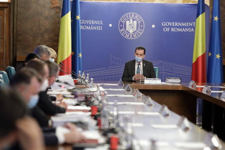 Guvernul pregătește planul de relansare economică (Sursa foto: gov.ro)
