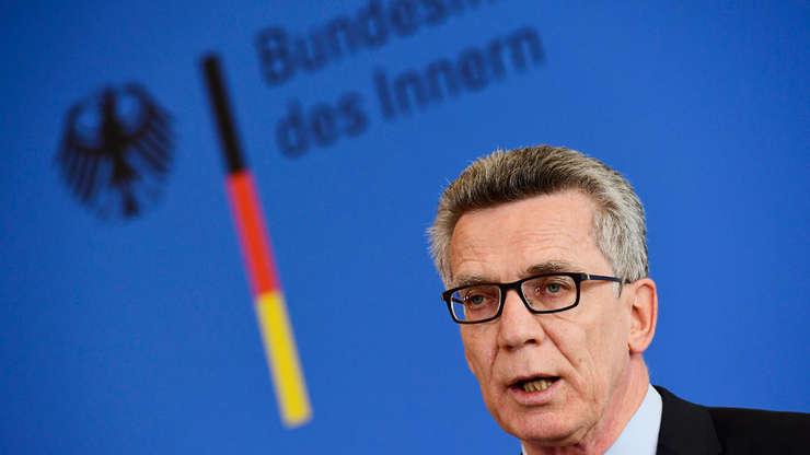 Thomas de Maizière, ministrul german de interne