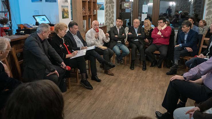Debat citoyen Bucarest 5.03.2019