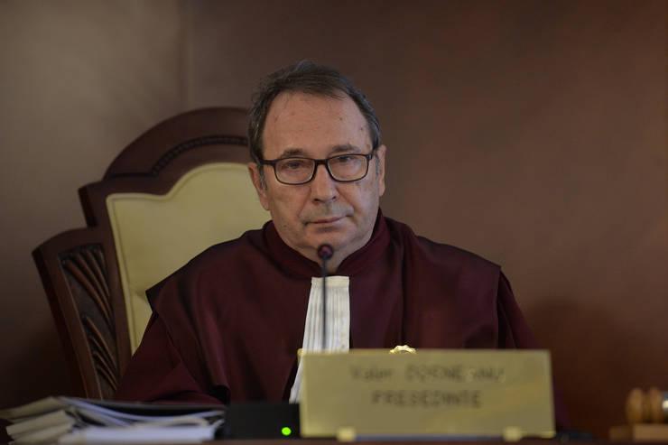 CCR, decizie cu miză mare pentru sistemul judiciar. Aici, președintele Curții, Valer Dorneanu (Sursa: MEDIAFAX FOTO/Alexandru Dobre)