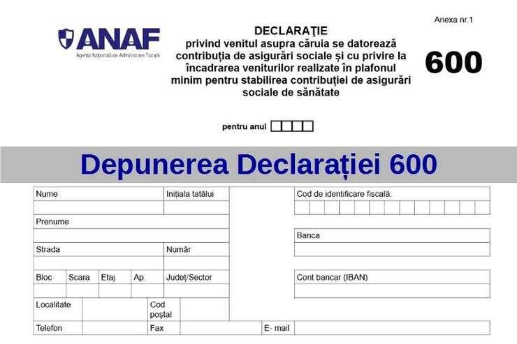 Ministrul Finanțelor a anunțat că Formularul 600 nu mai trebuie depus