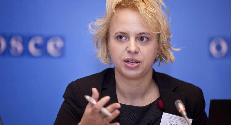 Diana Hătneanu, reprezentanta APADOR-CH