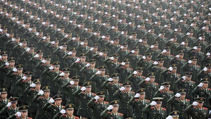 Din 2012, cheltuielile militare ale Chinei le-au intrecut pe cele ale Europei