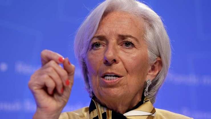 Directoarea generala a Fondului Monetar International, Christine Lagarde se exprima asupra tensiunilor comerciale dintre SUA - China, Washington, 19 aprilie 2018
