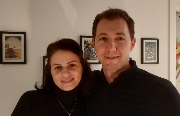 Andreia și Cătălin Turchină sunt doi dintre numeroșii doctori care fac limba româna destul de populară în spitalele suedeze.