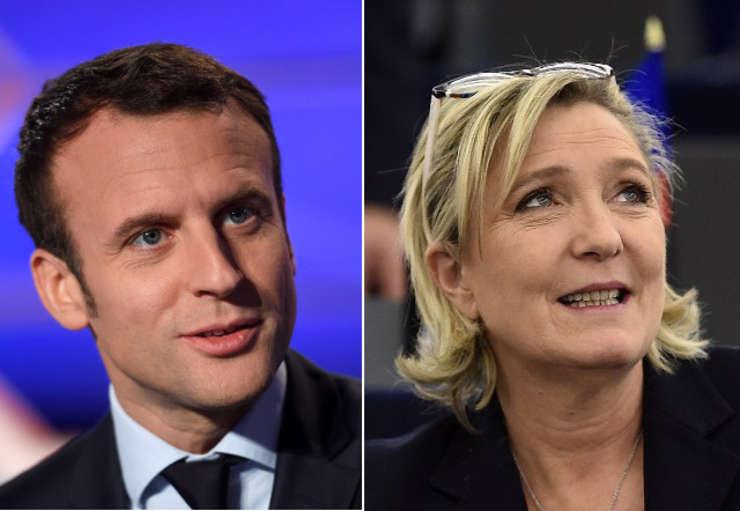 Emanuel Macron ramane mare favorit in fata lui Marine Le Pen