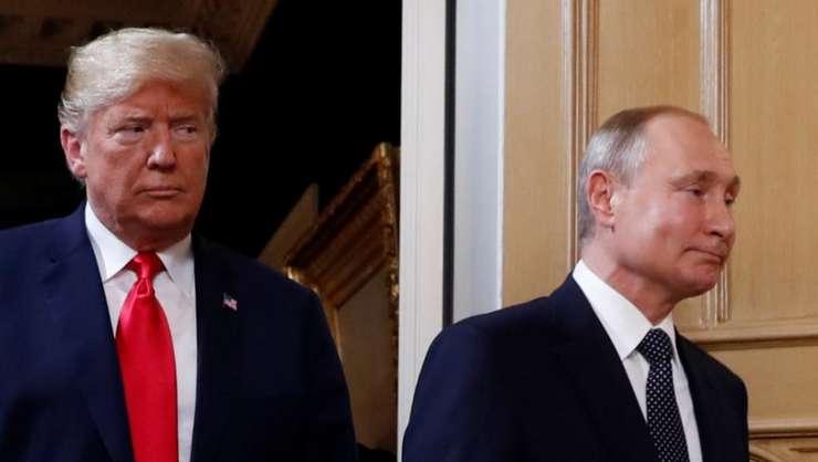 Ce au discutat Donald Trump şi Vladimir Putin în cele cinci întâlniri de până acum? (Foto: Reuters/Kevin Lamarque)