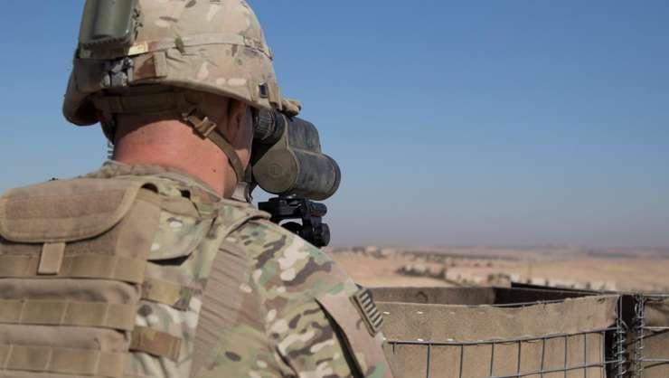 Soldat american, în Siria, 1 noiembrie 2018 (Foto: Reuters/U.S. Army/Zoe Garbarino)