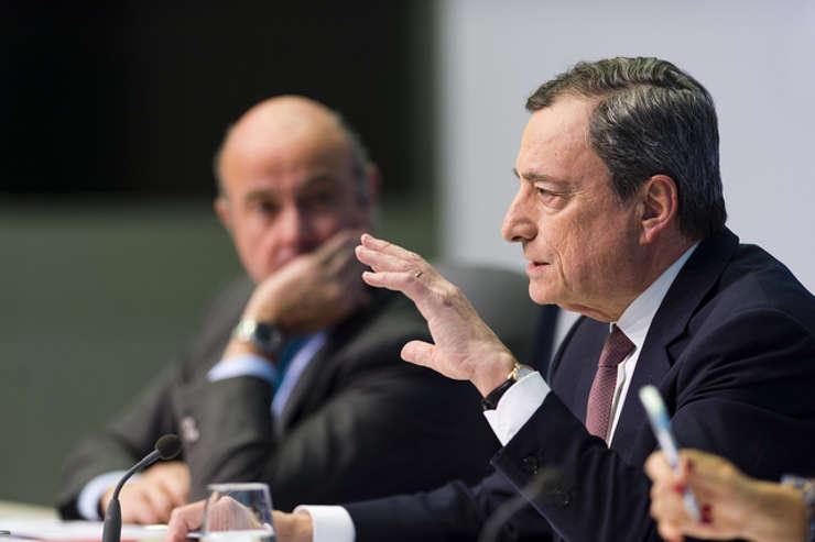 Președintele Băncii Centrale Europene Mario Draghi.