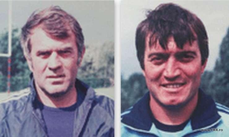 Radu Durbac (stânga) și Florică Murariu