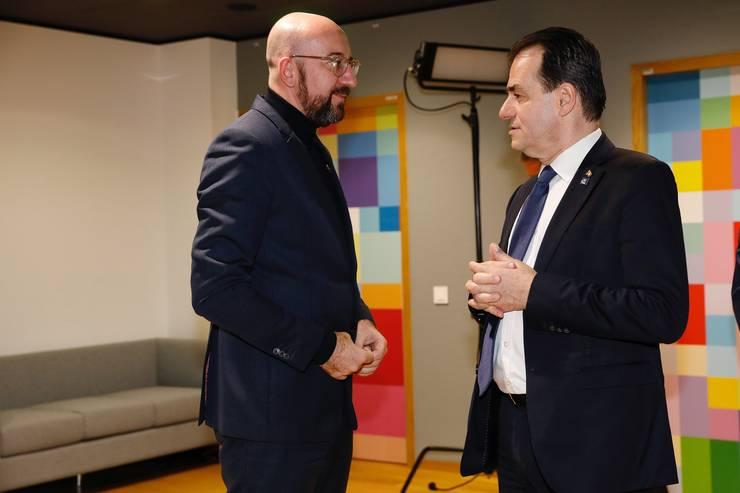 L Orban si Michel