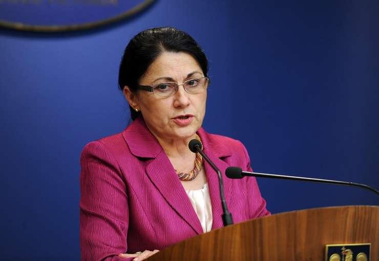 Ecaterina Andronescu: Guvernul a fost de bună credinţă în cazul OUG 13