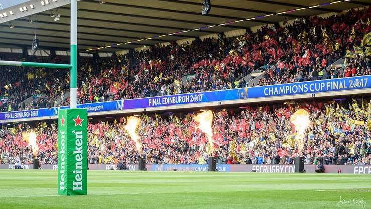 Stadionul BT Murrayfield din Edinburgh