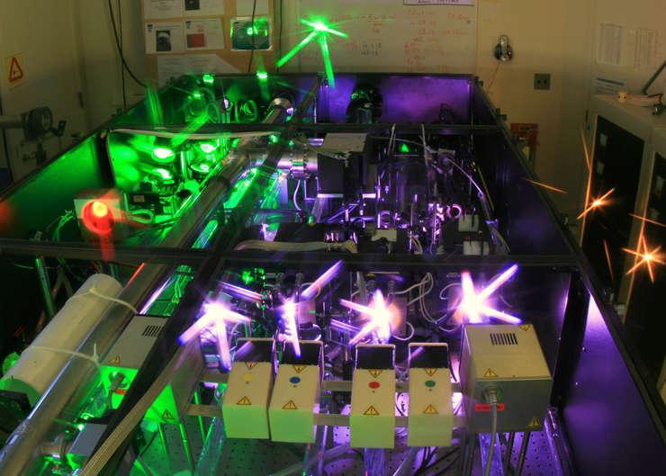 Laserul va folosi şi la testarea materialelor care se folosesc în misiunile spaţiale