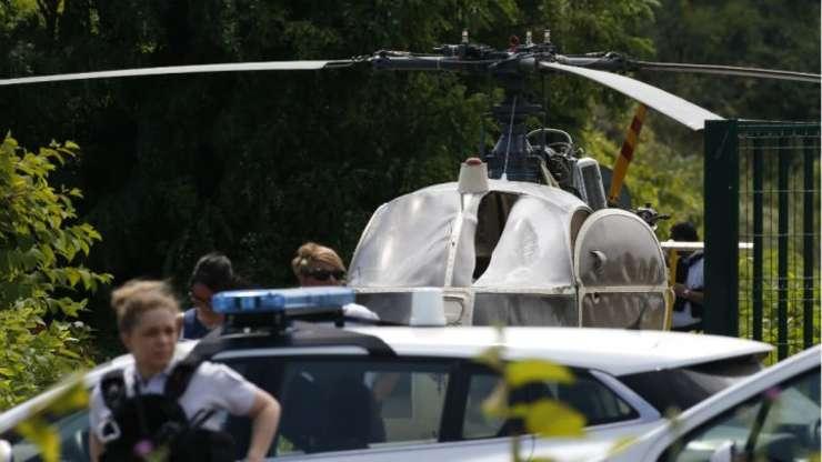 Elicopterul folosit la evadare a fost regasit la aproximativ 60 de km de închisoare