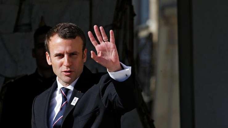 Emmanuel Macron - presedintele Frantei, pe 16 mai 2017
