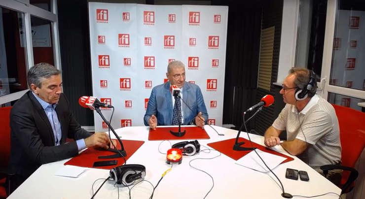 Dragoș Anastasiu, Cristian Pârvan și Constantin Rudniţchi