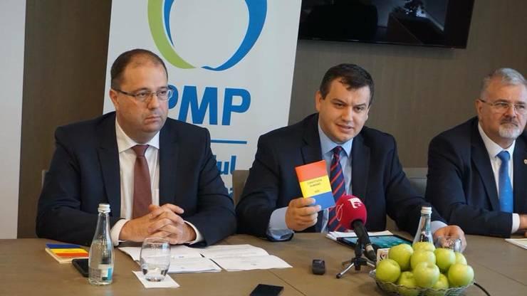 Eugen Tomac vrea un acord preelectoral între partidele de Opoziție (Sursa foto: Facebook/Eugen Tomac)
