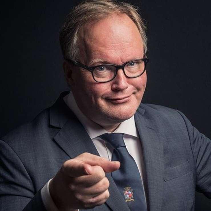 Johannes van Baalen (Sursa foto: Twitter/Johannes van Baalen)