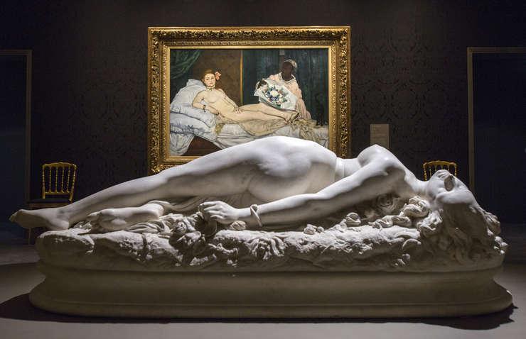 """Una din sàlile expozitiei """"Splendori si mizerii"""" de la Musée d'Orsay"""