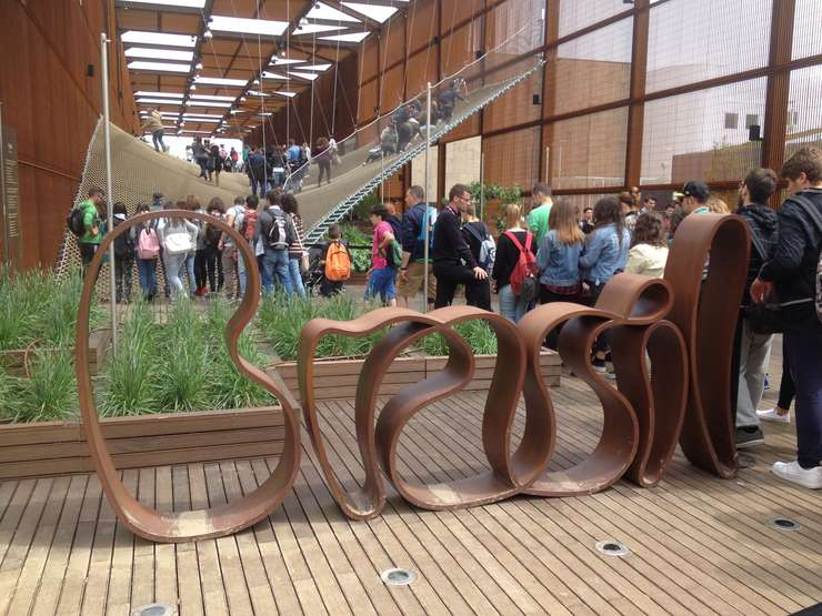 Pavilionul Braziliei la Expo 2015 de la Milano