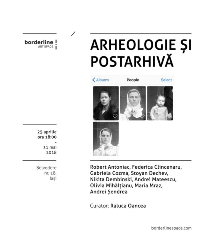 Afiș Expoziție Arheologie și postarhivă