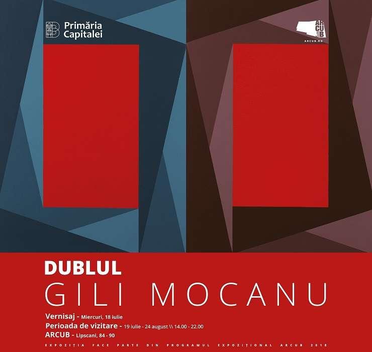 """Expoziția """"DUBLUL"""" a pictorului român Gili Mocanu"""
