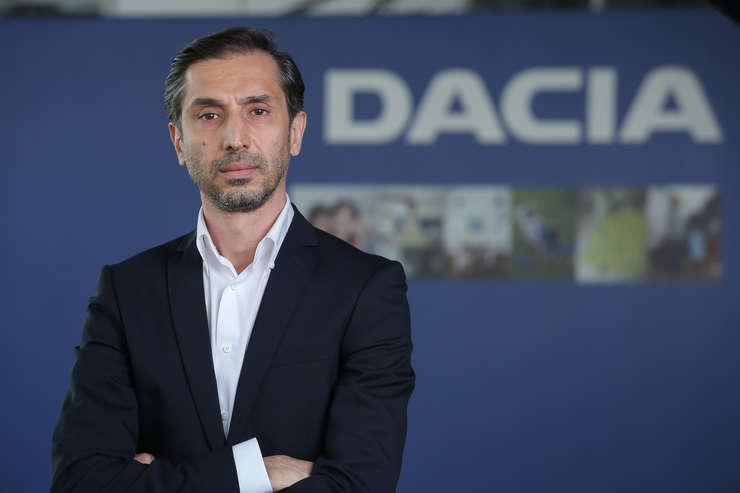 Ionut Gheorghe, Director comercial Dacia Franta