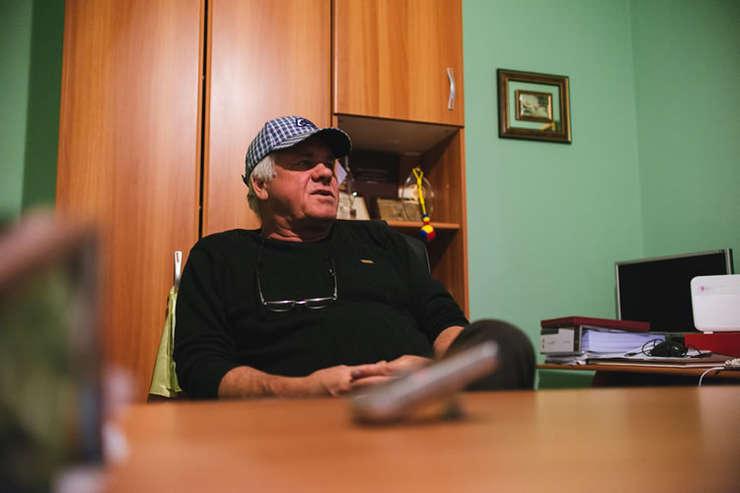"""Laurențiu Baciu spune că """"face"""" 7 tone de grâu la hectar pe Dealurile Tutovei."""