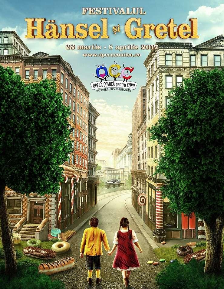 Festivalul Hansel și Gretel, Opera Comică pentru Copii, 2017