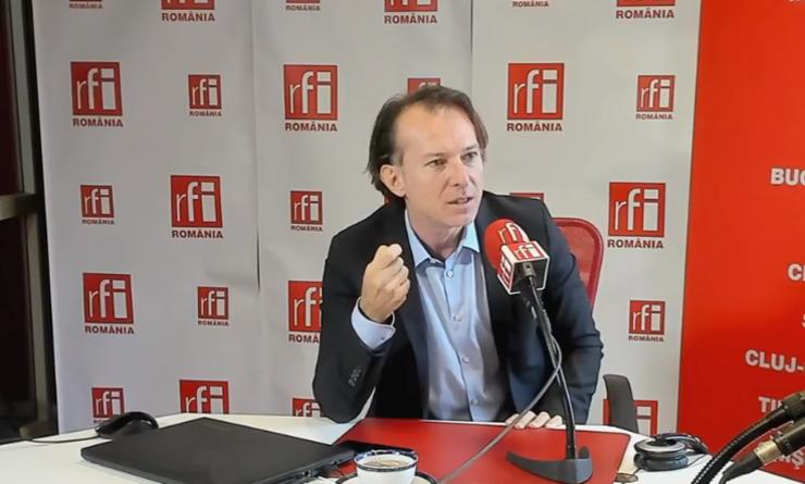 Florin Cîțu critică PSD-ul, în contextul majorării pensiilor (Foto: arhivă RFI)