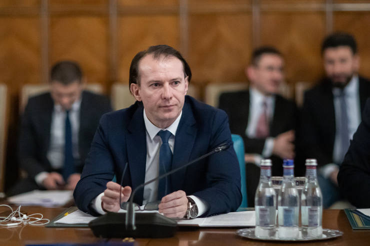 Florin Cîțu: Nu există acum o discuție despre pensii, dar efortul bugetar este enorm pentru a susține foarte multe companii (Sursa foto: gov.ro)