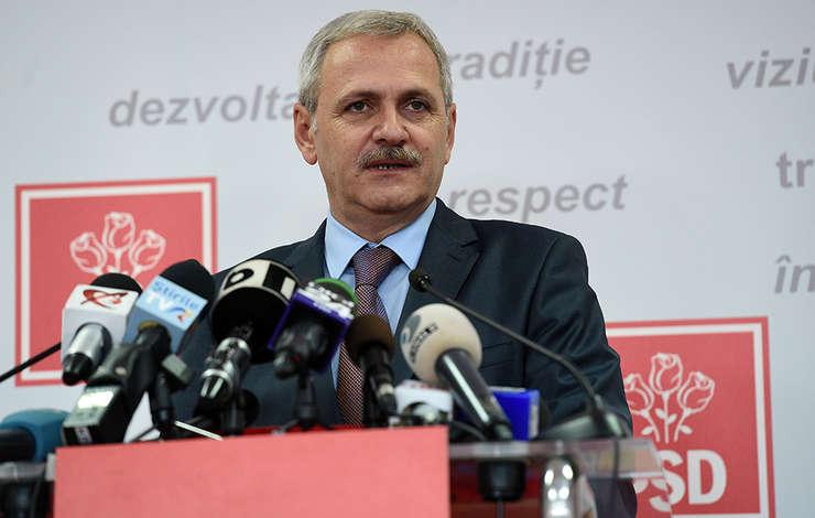 """Preşedintele PSD, Liviu Dragnea, denunţă """"statul paralel"""" (Sursa foto: site PSD)"""