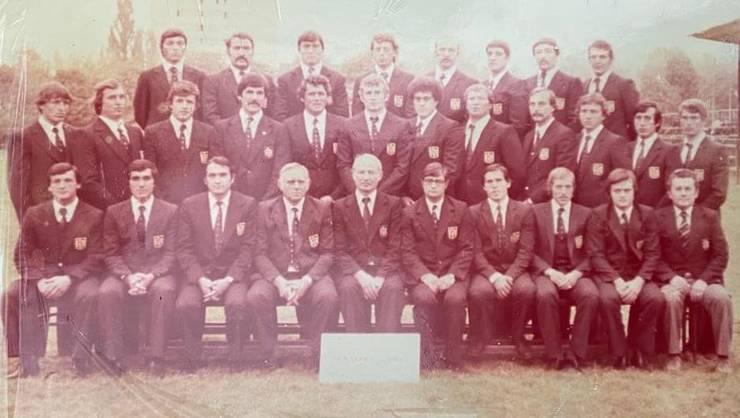 România rugby 1980 în Irlanda